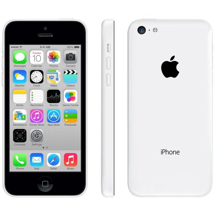 iPhone 5C 8GB  Vit - BEG - GOTT SKICK - OLÅST