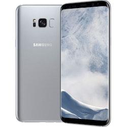 Samsung Galaxy S8 Plus 64GB Silver - BEG - FINT SKICK - OLÅST
