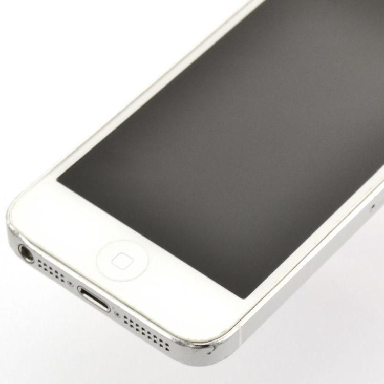 iPhone 5 32GB Silver - BEG - GOTT SKICK - OPERATÖRSLÅST TELENOR