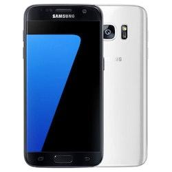 Samsung Galaxy S7 32GB Svart/Vit - BEG - ANVÄNT SKICK - OLÅST
