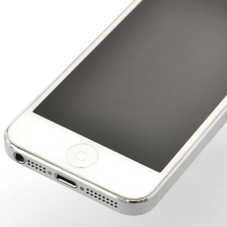 iPhone 5 16GB Silver - BEG - GOTT SKICK - OLÅST