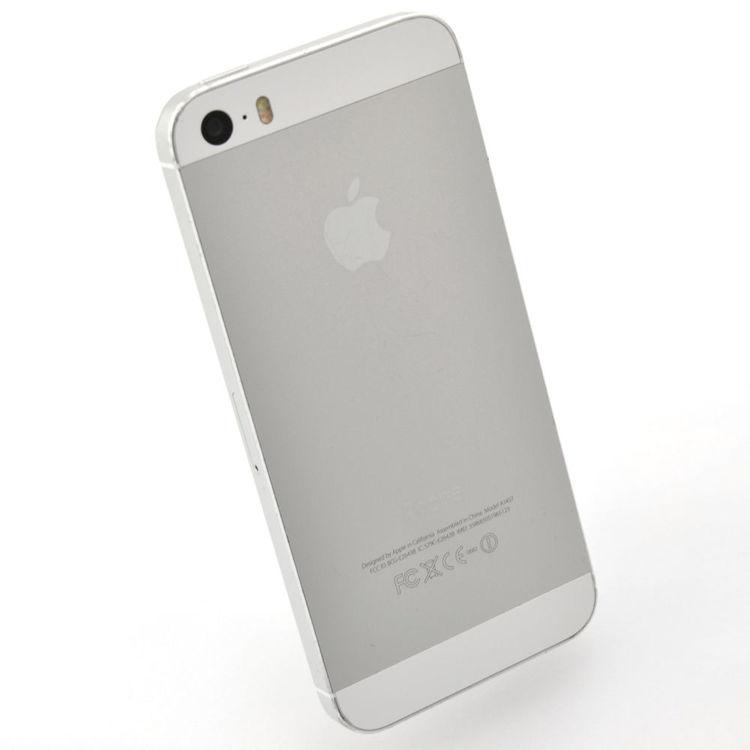 iPhone 5S 16GB Silver - BEG - GOTT SKICK - OPERATÖRSLÅST TRE
