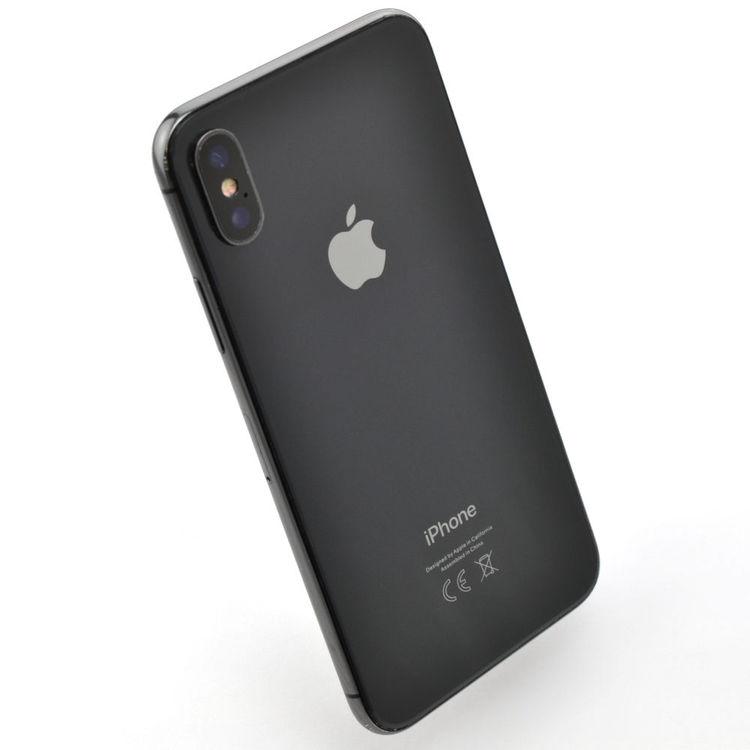 iPhone X 64GB Space Gray - BEG - GOTT SKICK - OLÅST