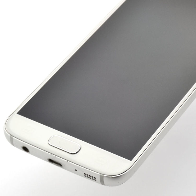 Samsung Galaxy S7 32GB Silver/Guld - BEG - ANVÄNT SKICK - OLÅST