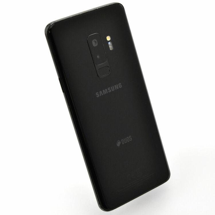 Samsung Galaxy S9 Plus 64GB Dual SIM  Svart - GOTT SKICK - OLÅST