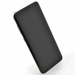 Samsung Galaxy S8 64GB Silver - BEG - GOTT SKICK - OLÅST