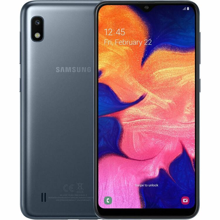 Samsung Galaxy A10 (2019) 32GB Dual SIM Svart - BEG - GOTT SKICK - OLÅST