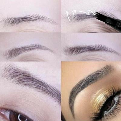 Ögonbrynspenna / borste - Flera färger