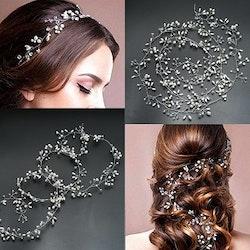 Hårsmycke med pärlor