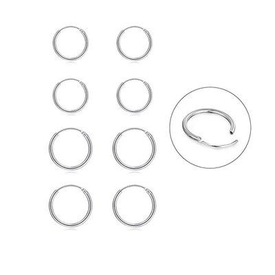 1 par Örhänge - Ringar - Finns flera storlekar
