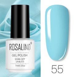 Gellack - RL55 - 7 ml - Ljusblå