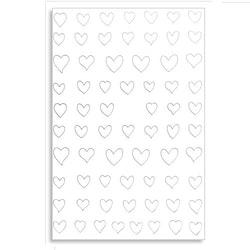 Sticker Silverhjärtan
