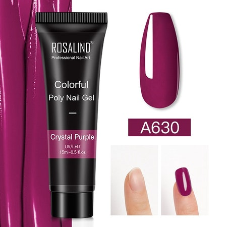Polygel - A630 Crystal Purple - 15 ml