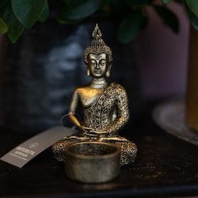 Värmeljushållare buddha flera modeller