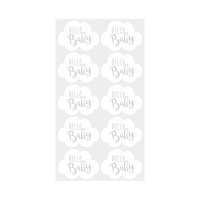 Stickers Hello Baby
