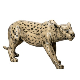 By On Leopard Skulptur
