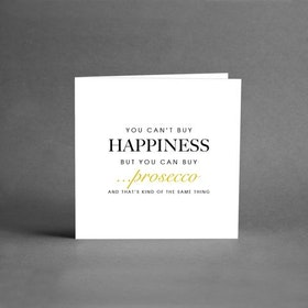 You can´t buy Happiness