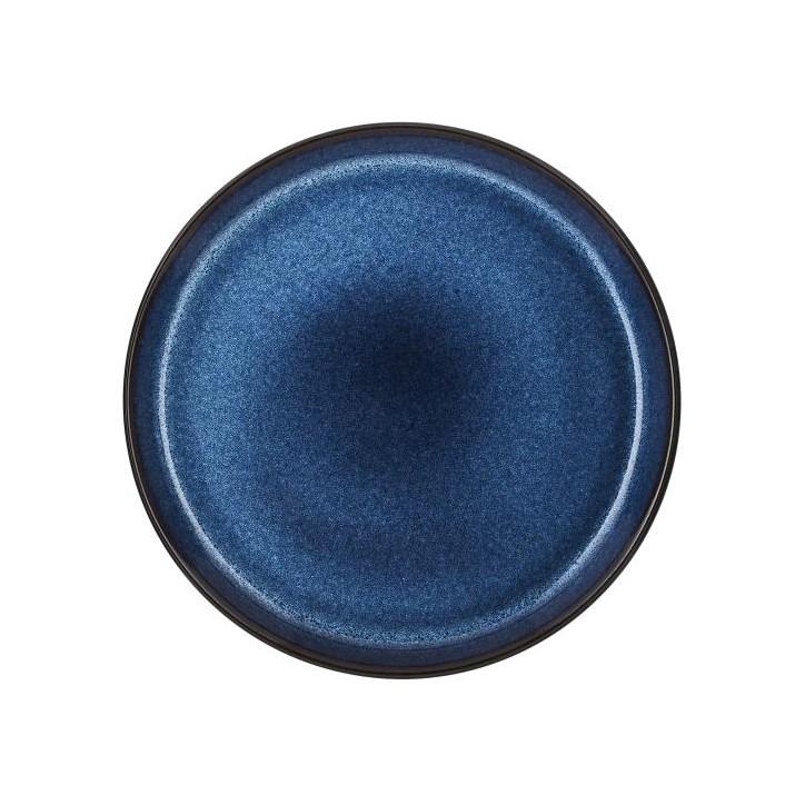 Bitz Tallrik 27 cm Mörkblå