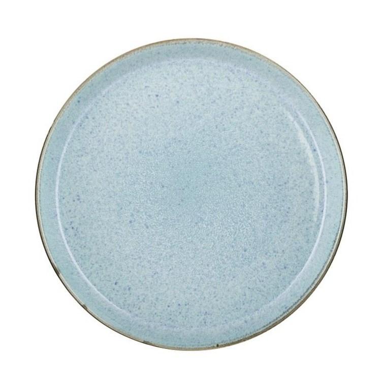 Bitz Tallrik 27 cm Ljusblå/Grå