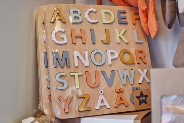 Pussel bokstäver