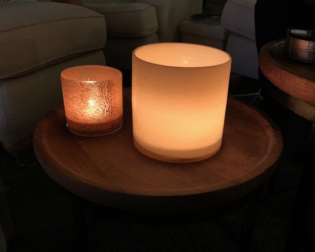 Candle holder Calore XS - Brun