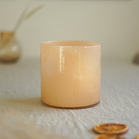 Candle holder Calore M - Peach