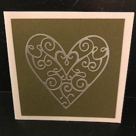 Hjärta silver
