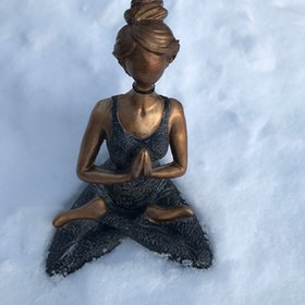 Yoga kvinna