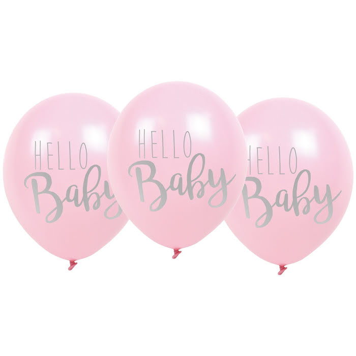 Hello Baby Ballonger Flera färger