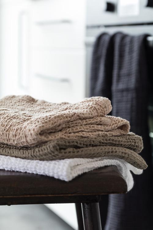 Kök/badrums Handduk Vit
