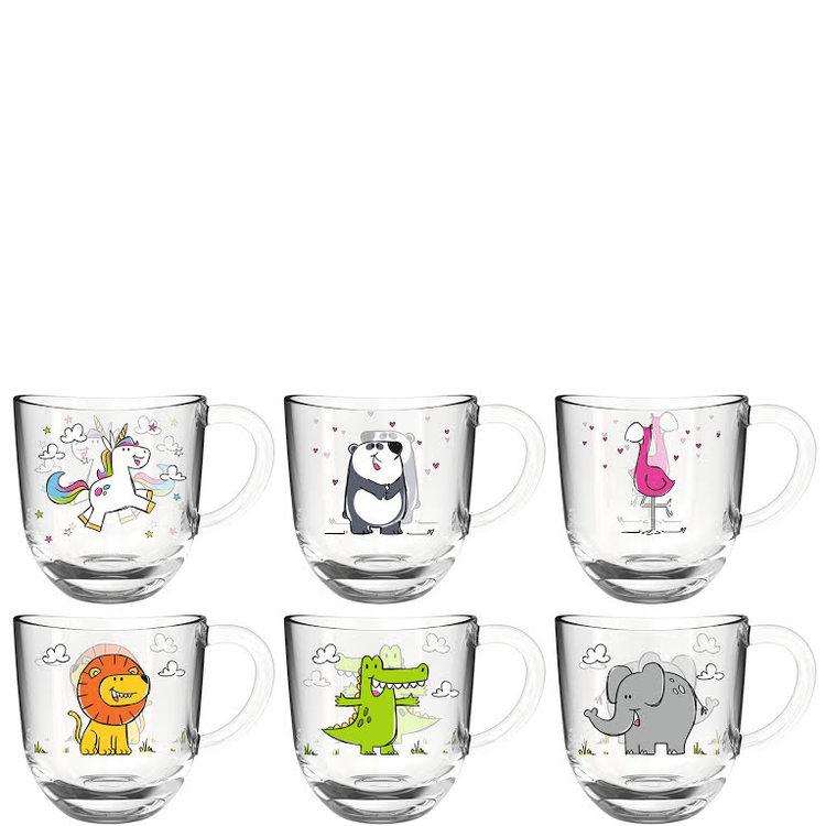 6-pack Bambini Glas, 280 ml