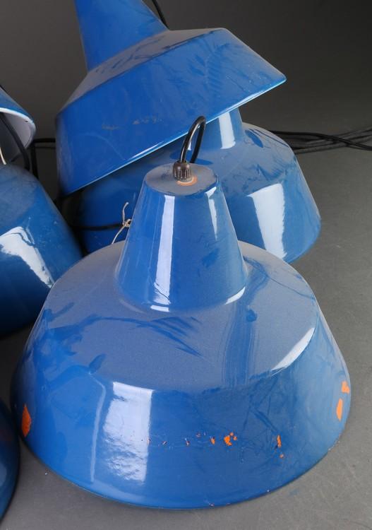 Louis Poulsen Industrilampa - Blå