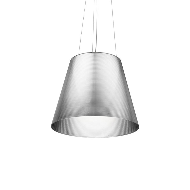 Hyr taklampa, FLOS K tribe S3 - Philippe Starck - Transparent