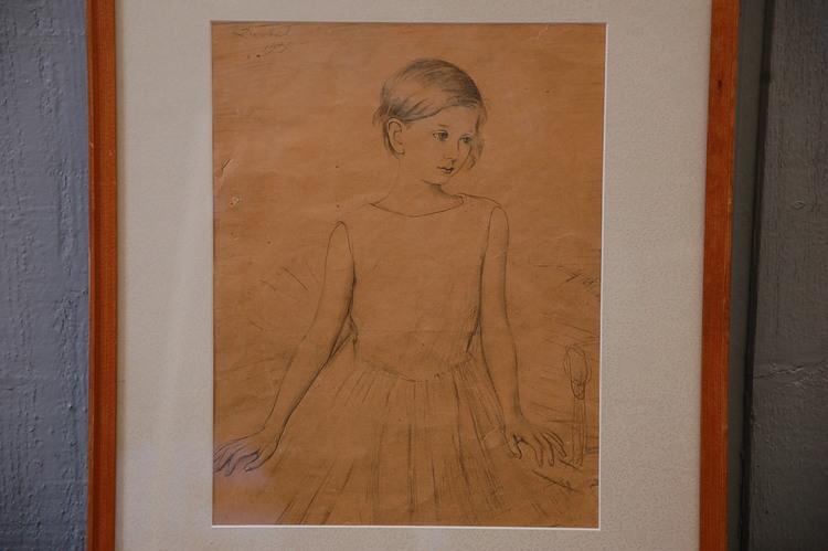 Nils von Dardel Blyerts Barn - Sign Dardel 1930