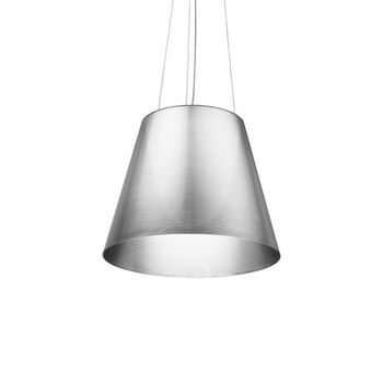 Taklampa,, FLOS K tribe S3 - Philippe Starck - Transparent