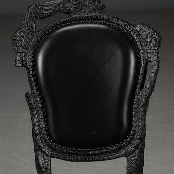Stolar, Moooi Smoke Chair - Design Maarten Baas