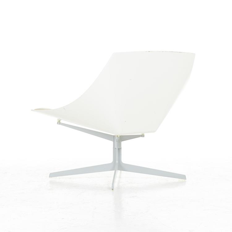 Hyr fåtölj, Fritz Hansen Space JL10 Lounge Chair