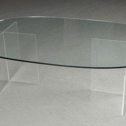 Hyr soffbord, glasskiva och stativ i plexi