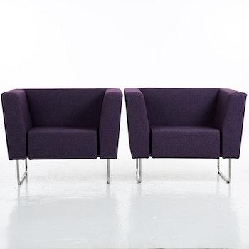 Hyr fåtöljer, Swedese Gap Lounge