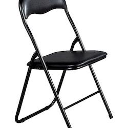 Hyra fällbara stolar med stoppad sits - Paket med 28st
