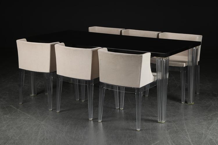 Grupp, Kartell Top Top Table 190 cm + Kartell Mademoiselle