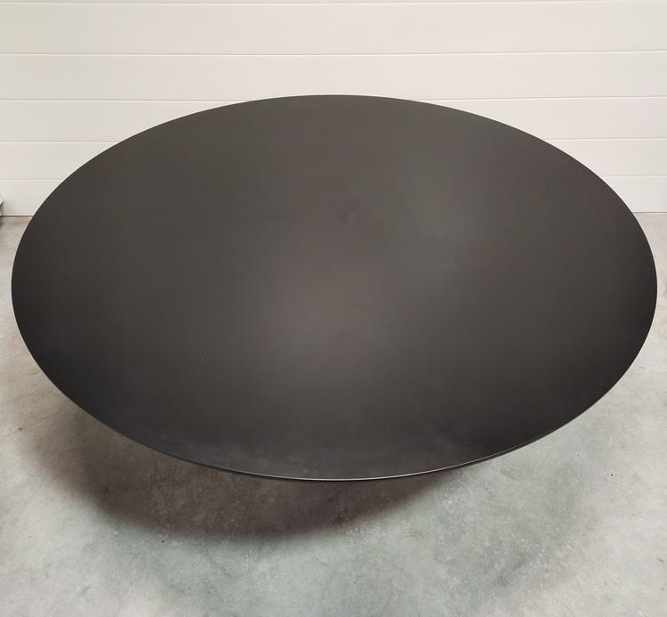 Hyr runt bord, Moooi Container Table Svart HPL 180 cm - Marcel Wanders