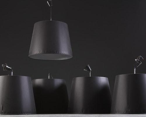 Hyr pendlar, Moooi Round Light - 60 cm i diameter