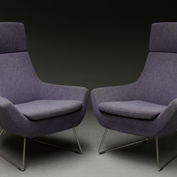 Hyr fåtöljer, Swedese Happy Easy Chair