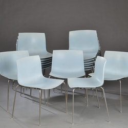 Hyr stolar, Arper Catifa 53 - Ljusblå