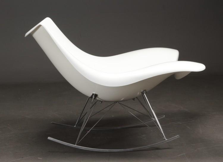 Hyr fåtölj, Stingray Fredericia Furniture - Vit