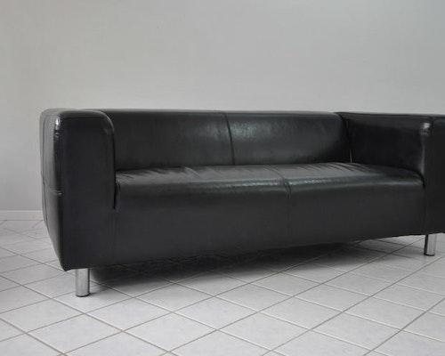 Hyr soffa, IKEA Kramfors i skinn