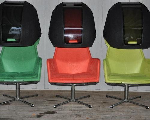 Hyr fåtölj, Blå Station Peekaboo - Flera Färger