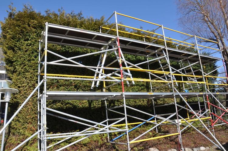 Djup byggställning - 6,2 x 5-10 meter
