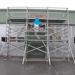 Fasadställning på hjul - 3,7 x 5,5 meter